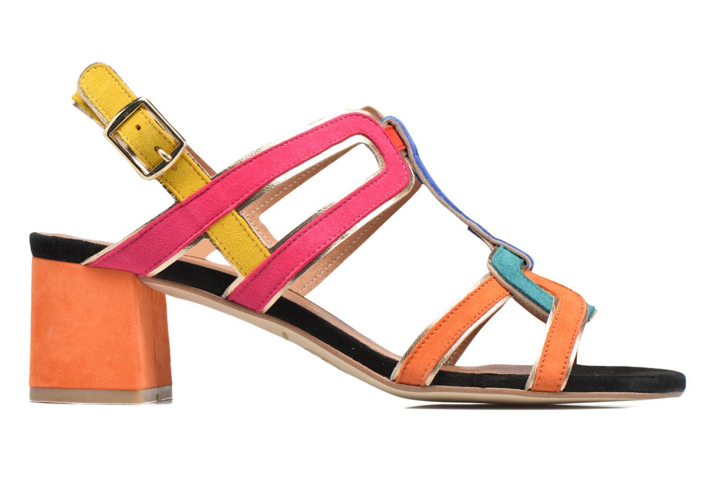 Sandales et nu-pieds Made by SARENZA Frida Banana #2 Multicolore vue détail/paire