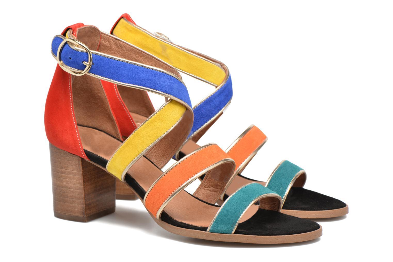 Sandalen Made by SARENZA Bombay Babes Sandales à Talons #2 Multicolor achterkant