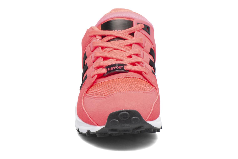 Baskets Adidas Originals Eqt Support J Rose vue portées chaussures