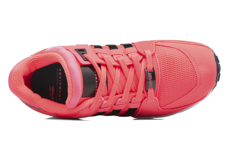 Baskets Adidas Originals Eqt Support J Rose vue gauche
