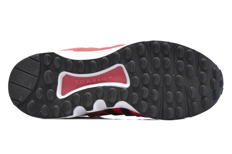 Baskets Adidas Originals Eqt Support J Rose vue haut