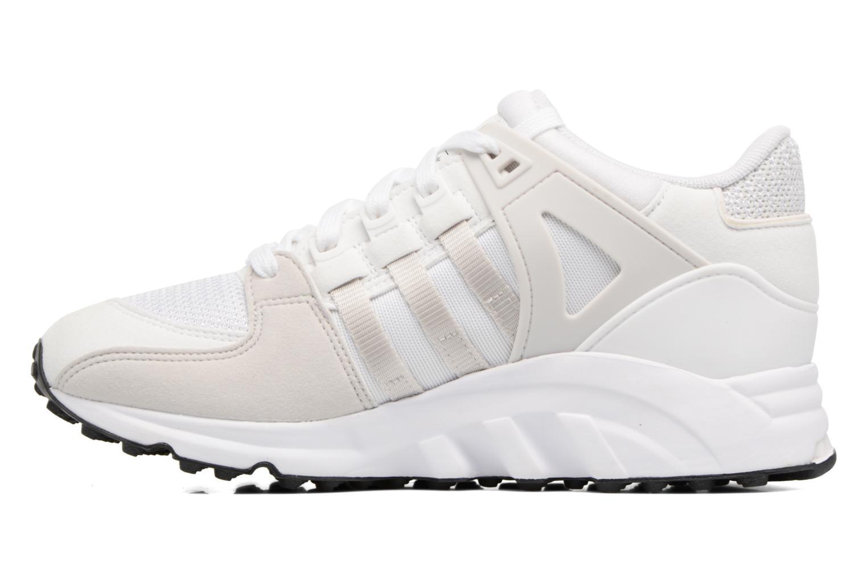 Baskets Adidas Originals Eqt Support J Blanc vue face