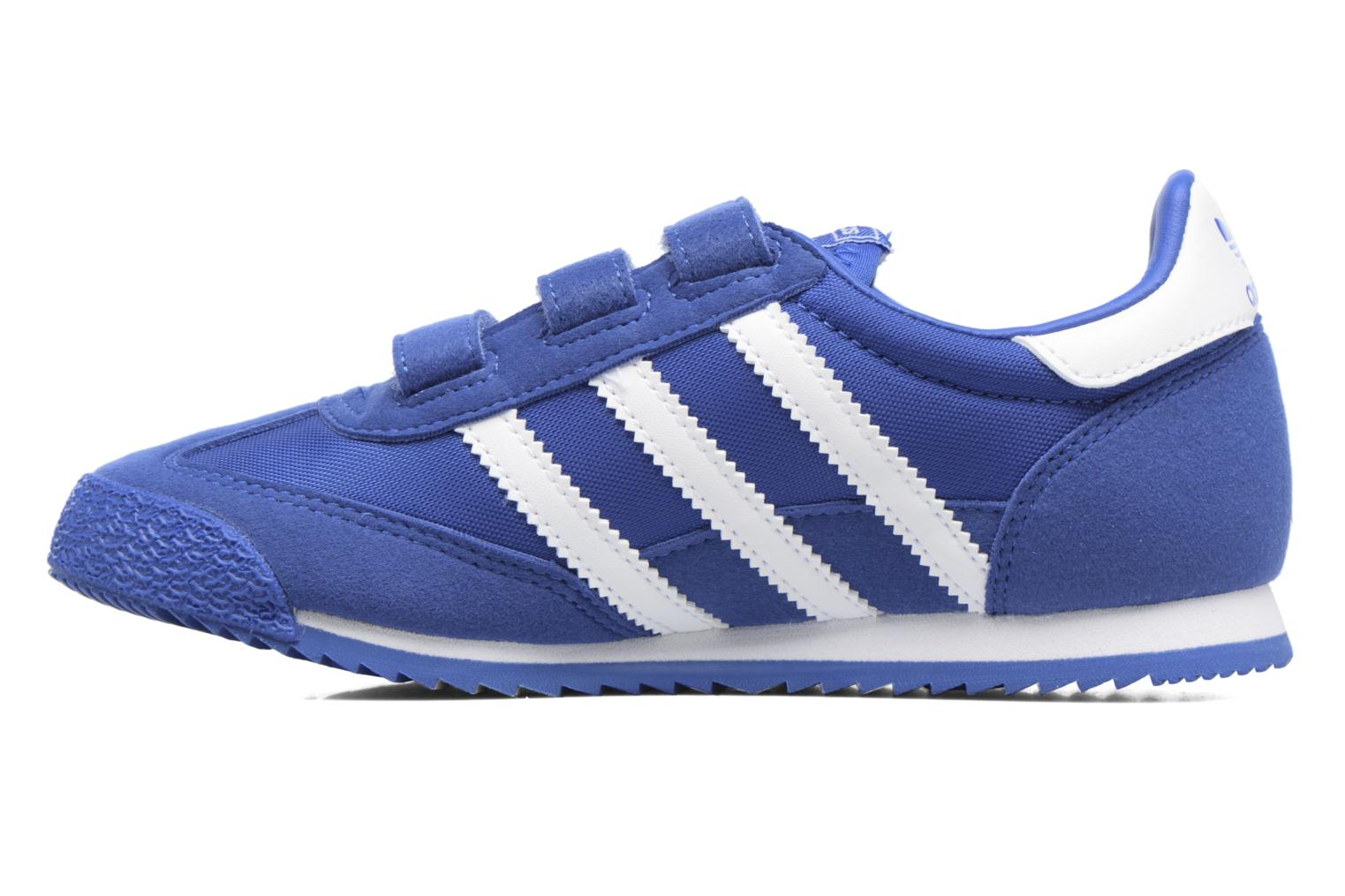 Baskets Adidas Originals Dragon Og Cf C Bleu vue face