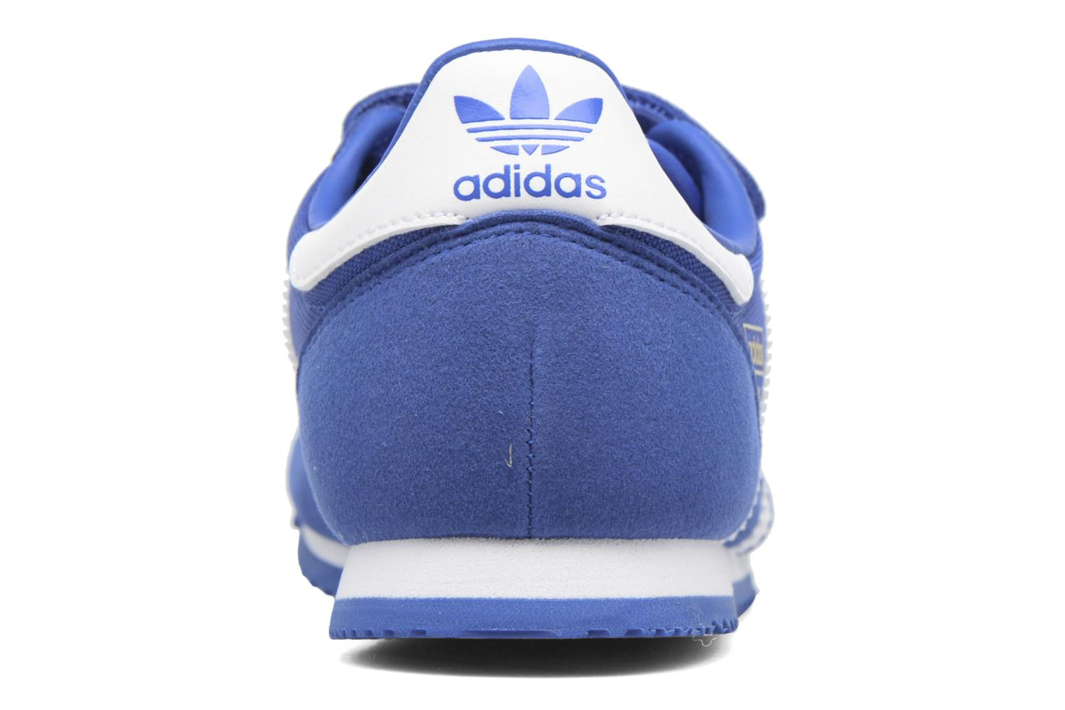 Baskets Adidas Originals Dragon Og Cf C Bleu vue droite