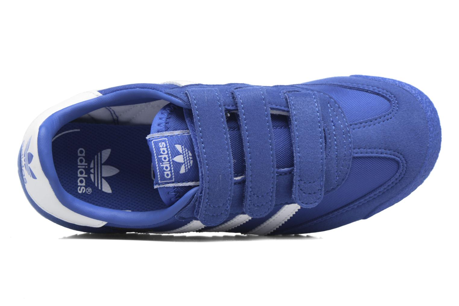 Baskets Adidas Originals Dragon Og Cf C Bleu vue gauche