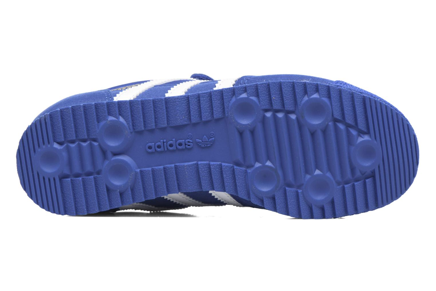 Baskets Adidas Originals Dragon Og Cf C Bleu vue haut