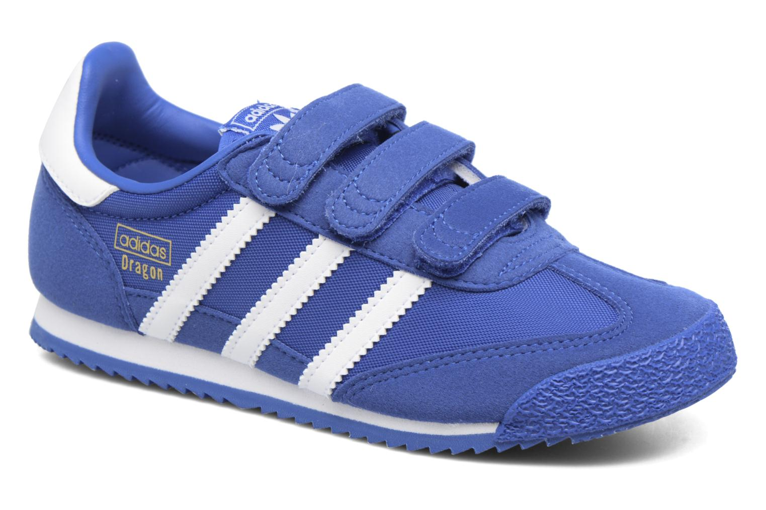 Baskets Adidas Originals Dragon Og Cf C Bleu vue détail/paire