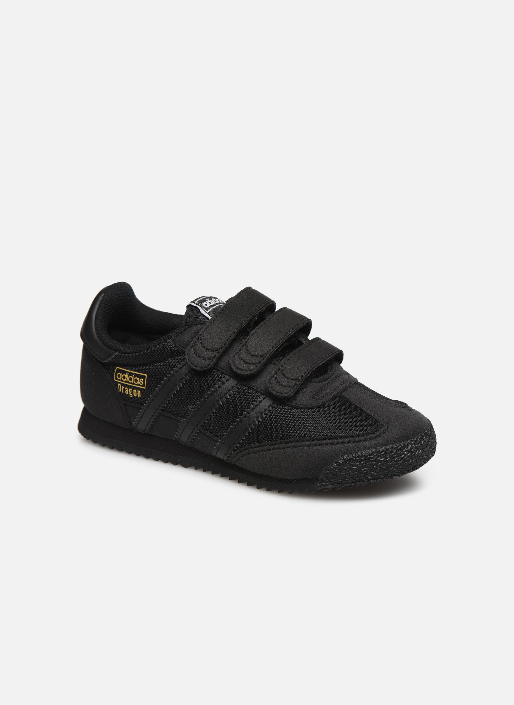 Baskets Adidas Originals Dragon Og Cf C Noir vue détail/paire