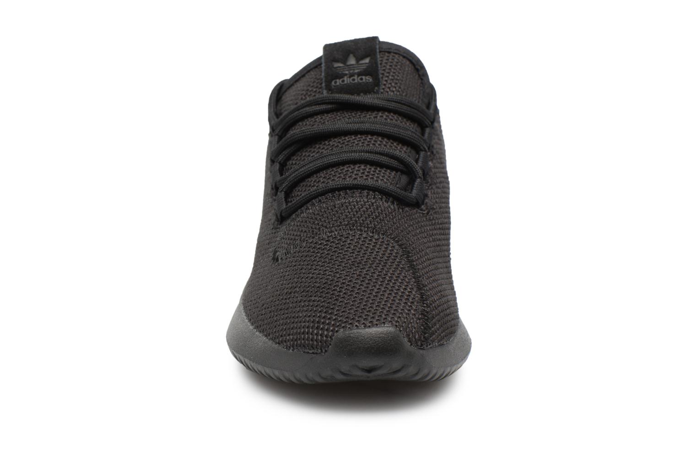Baskets Adidas Originals Tubular Shadow J Noir vue portées chaussures