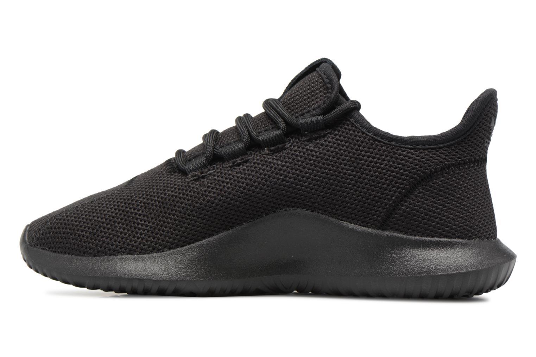 Sneaker Adidas Originals Tubular Shadow J schwarz ansicht von vorne