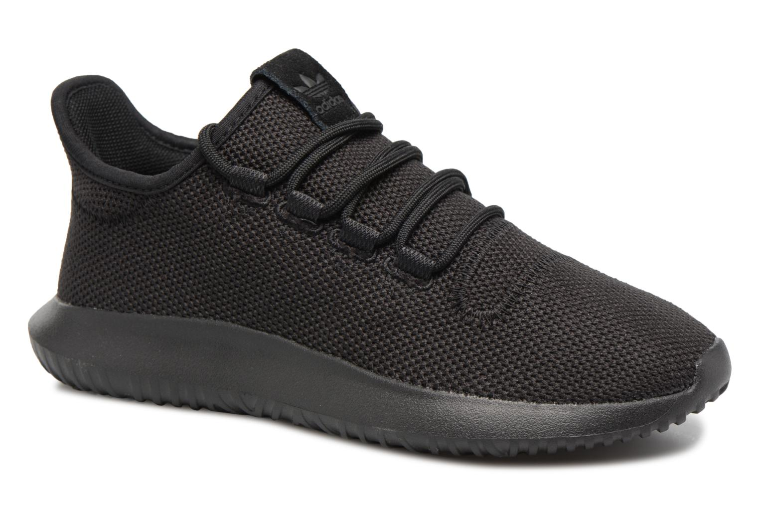Baskets Adidas Originals Tubular Shadow J Noir vue détail/paire
