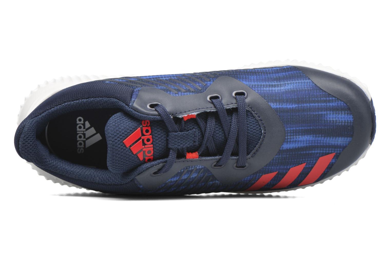 Baskets Adidas Performance Fortarun K Bleu vue gauche