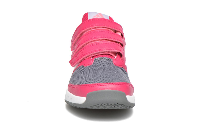 Baskets Adidas Performance Fortagym Cf K Rose vue portées chaussures