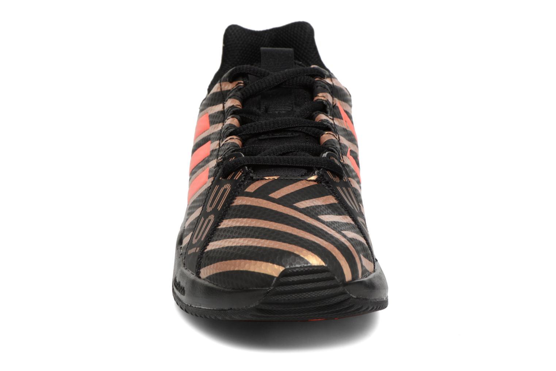 Sportschuhe Adidas Performance Rapidaturf Messi K schwarz schuhe getragen