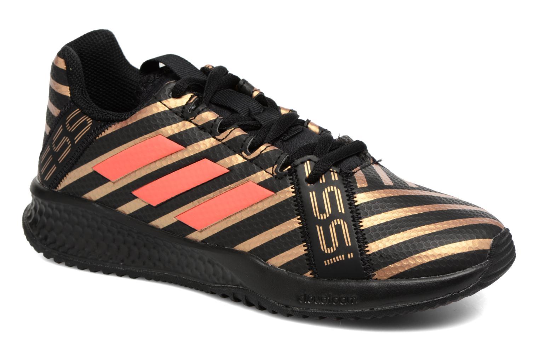Sportschuhe Adidas Performance Rapidaturf Messi K schwarz detaillierte ansicht/modell