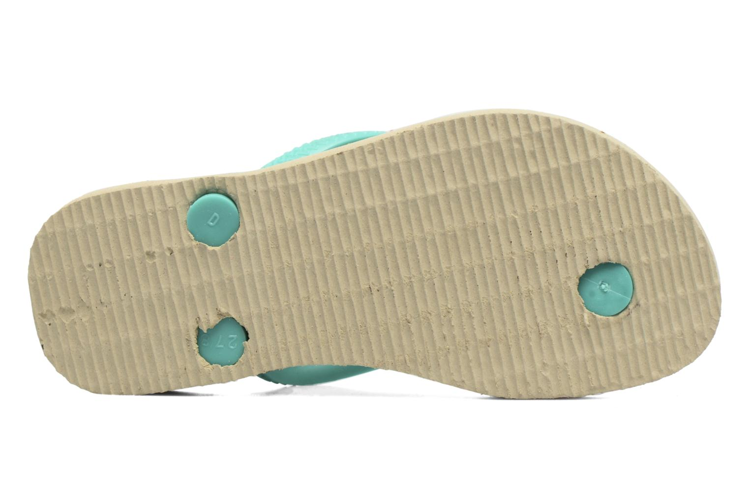 Flip flops Havaianas Kids Slim Moana Beige view from above
