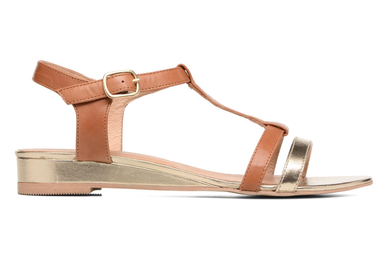Sandales et nu-pieds Georgia Rose Tabilo Marron vue derrière