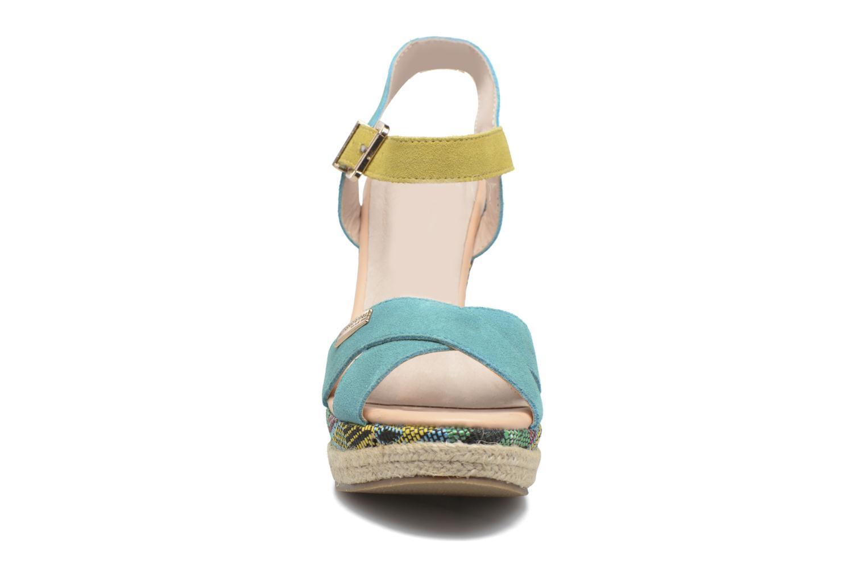 Sandales et nu-pieds Les Tropéziennes par M Belarbi Grease Bleu vue portées chaussures