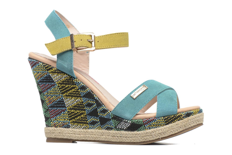 Sandales et nu-pieds Les Tropéziennes par M Belarbi Grease Bleu vue derrière