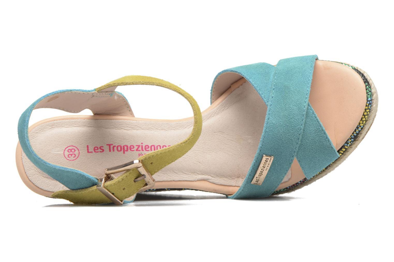 Sandales et nu-pieds Les Tropéziennes par M Belarbi Grease Bleu vue gauche