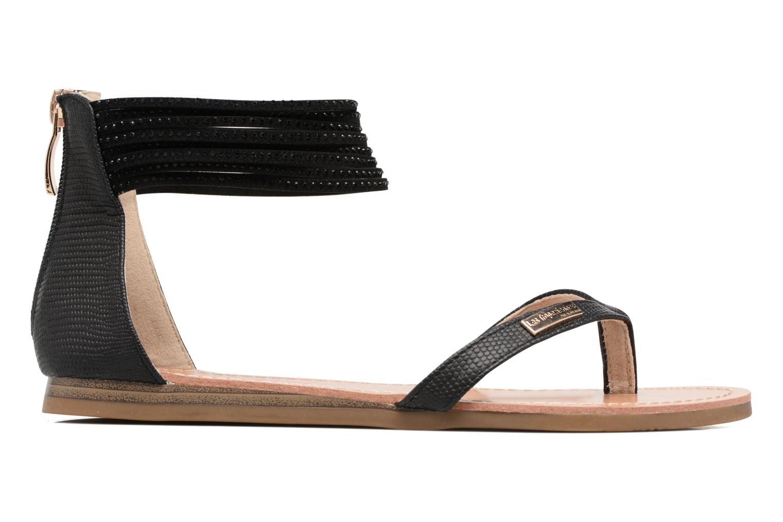 Sandales et nu-pieds Les Tropéziennes par M Belarbi Ginkgo Noir vue derrière