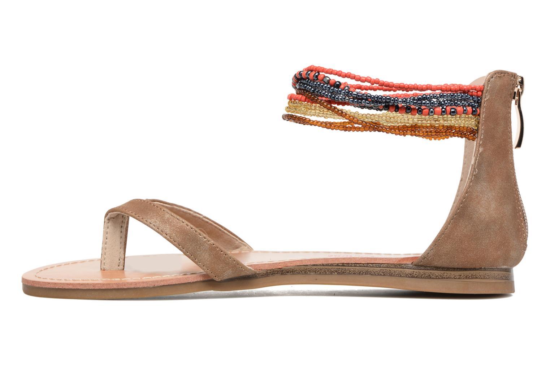Sandales et nu-pieds Les Tropéziennes par M Belarbi Ginkgo Marron vue face