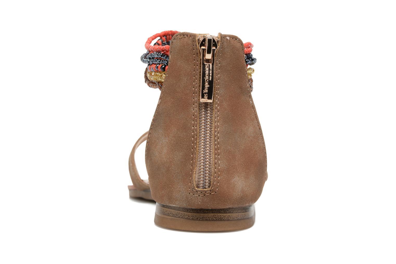 Sandales et nu-pieds Les Tropéziennes par M Belarbi Ginkgo Marron vue droite