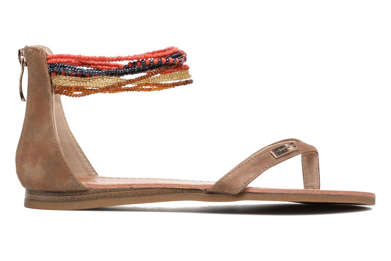 Sandales et nu-pieds Les Tropéziennes par M Belarbi Ginkgo Marron vue derrière
