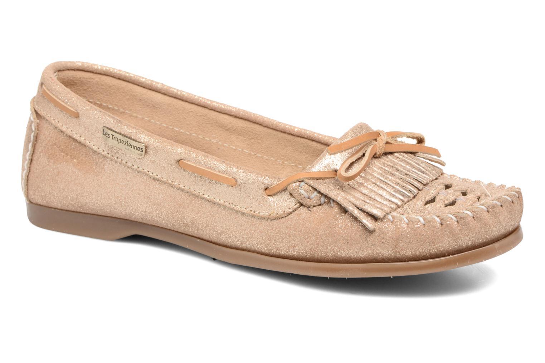 Zapatos promocionales Les Tropéziennes par M Belarbi Paraguay (Oro y bronce) - Mocasines   Descuento de la marca
