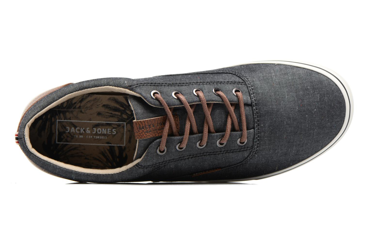 Baskets Jack & Jones JFW Vision Chambray Bleu vue gauche