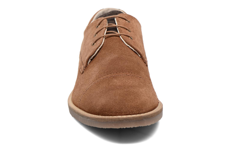 Chaussures à lacets Jack & Jones JFW Billy Suede Marron vue portées chaussures