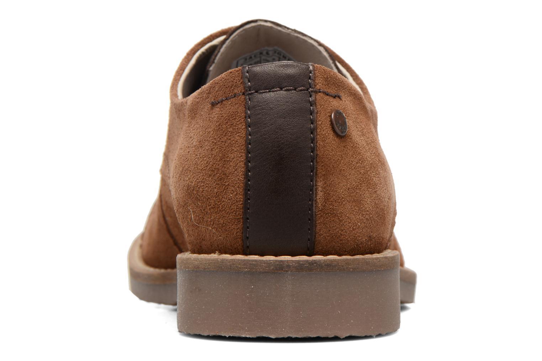 Chaussures à lacets Jack & Jones JFW Billy Suede Marron vue droite
