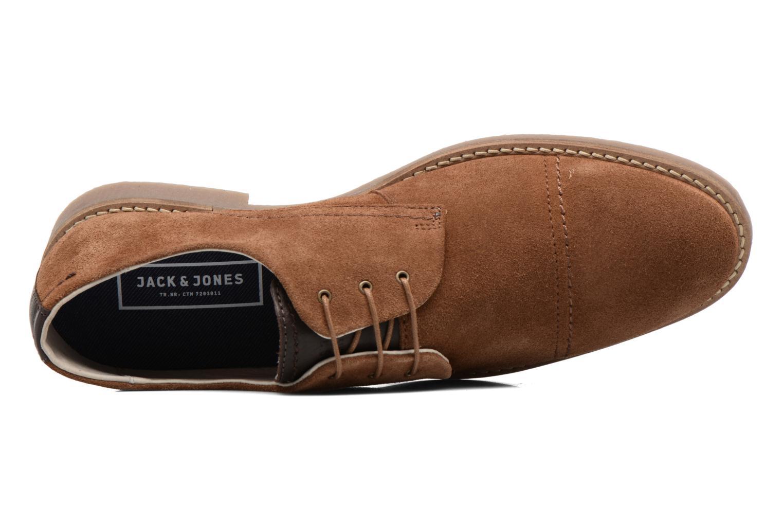 Chaussures à lacets Jack & Jones JFW Billy Suede Marron vue gauche