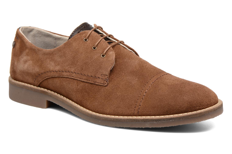 Chaussures à lacets Jack & Jones JFW Billy Suede Marron vue détail/paire