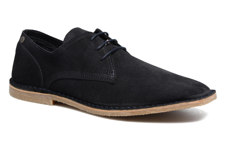 Chaussures à lacets Jack & Jones JFW Damon Bleu vue détail/paire