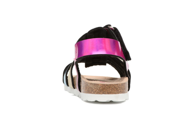 Sandales et nu-pieds Les Tropéziennes par M Belarbi Polina Multicolore vue droite