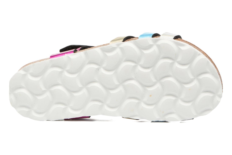 Sandales et nu-pieds Les Tropéziennes par M Belarbi Polina Multicolore vue haut