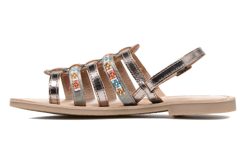 Sandali e scarpe aperte Les Tropéziennes par M Belarbi Mango Oro e bronzo immagine frontale