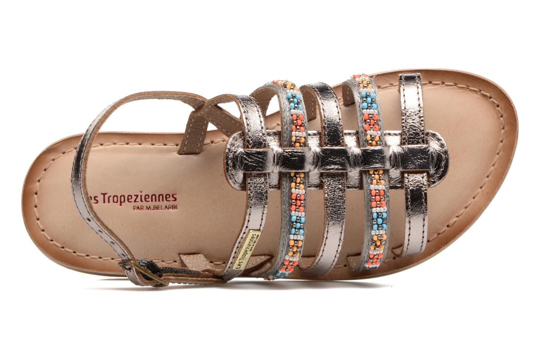 Sandali e scarpe aperte Les Tropéziennes par M Belarbi Mango Oro e bronzo immagine sinistra