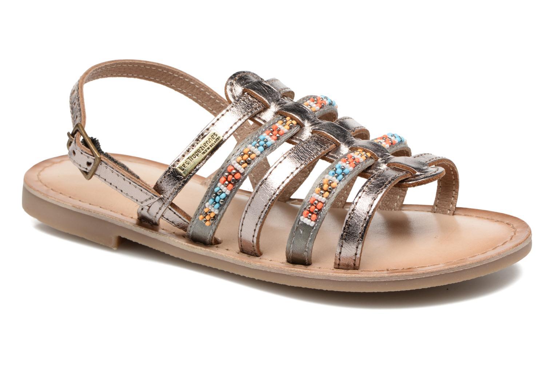 Sandaler Les Tropéziennes par M Belarbi Mango Guld og bronze detaljeret billede af skoene