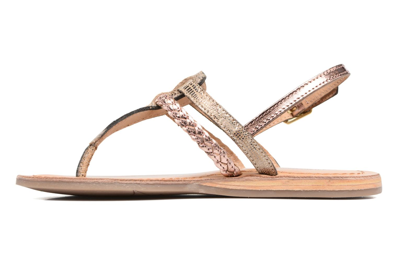Sandales et nu-pieds Les Tropéziennes par M Belarbi Baraka E Or et bronze vue face