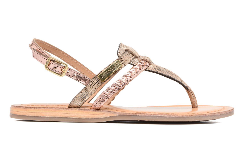 Sandales et nu-pieds Les Tropéziennes par M Belarbi Baraka E Or et bronze vue derrière