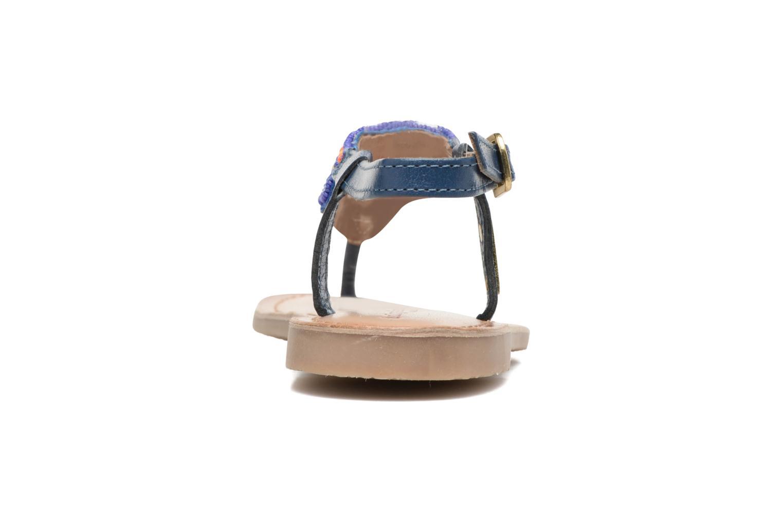 Sandalen Les Tropéziennes par M Belarbi Nuage blau ansicht von rechts