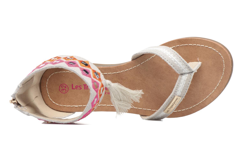 Sandales et nu-pieds Les Tropéziennes par M Belarbi Galactik Beige vue gauche