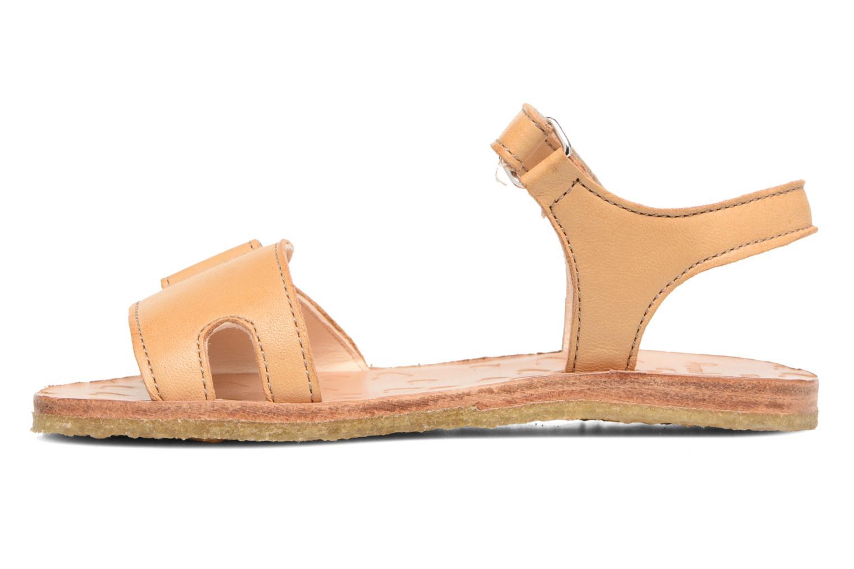Sandales et nu-pieds Easy Peasy Dada Beige vue face