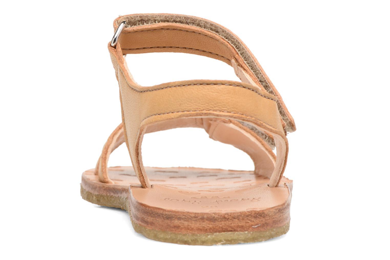 Sandales et nu-pieds Easy Peasy Dada Beige vue droite