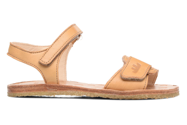 Sandales et nu-pieds Easy Peasy Dada Beige vue derrière