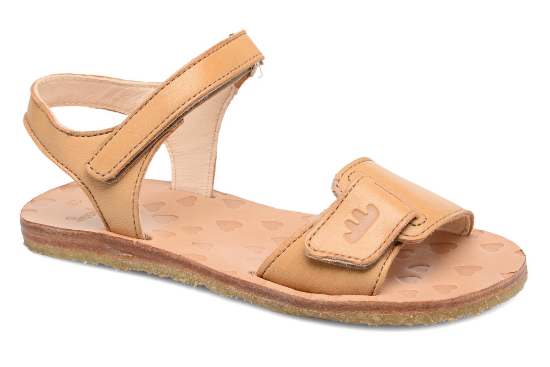 Sandales et nu-pieds Easy Peasy Dada Beige vue détail/paire