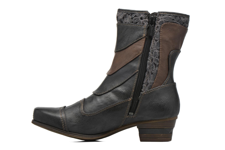 Bottines et boots Mustang shoes Amy Gris vue face