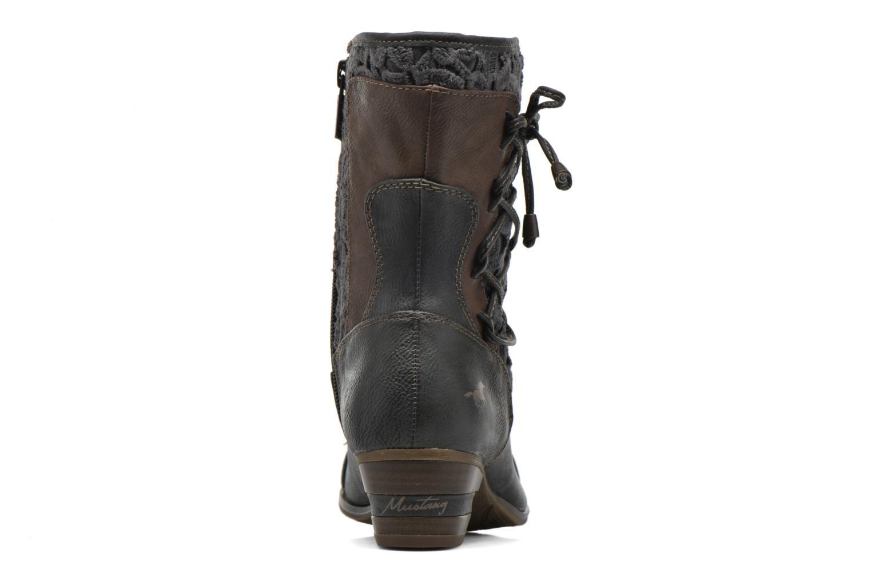 Bottines et boots Mustang shoes Amy Gris vue droite